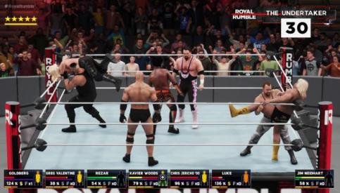 WWE2K18Rumble