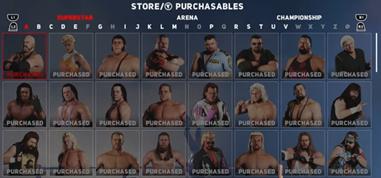 WWE2K18Store