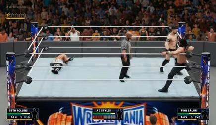 WWE2K18Triple