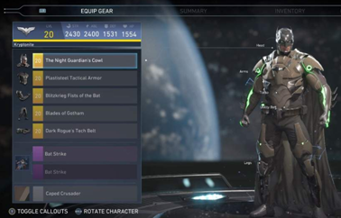 Injustice2Gear
