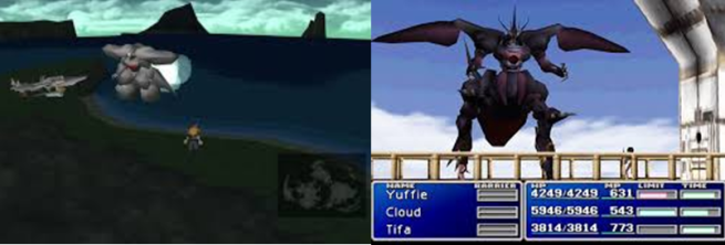 FF7WEAPONBosses