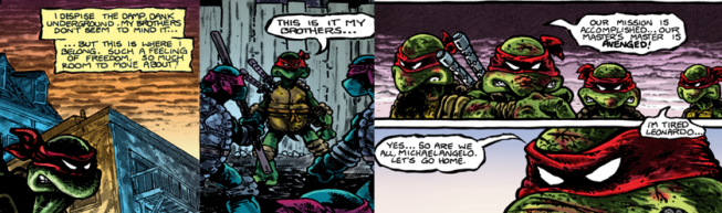 TMNTComic1Individuality